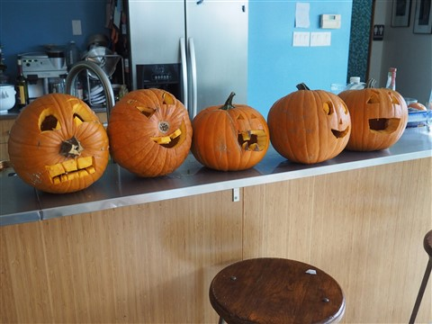 austin modhouse pumpkin carving sacrifice of 2014