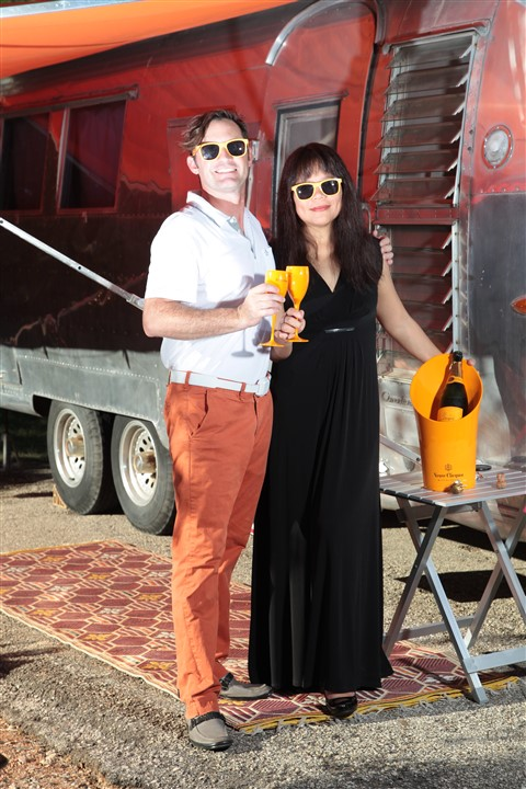 veuve clicquot champagne camping