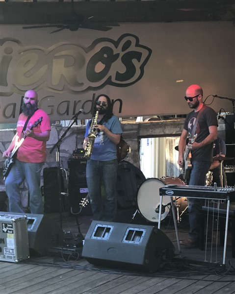 Tony Garissino and Jesse Straton Band Austin Guitar