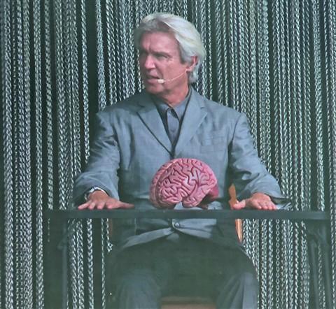 David Byrne ACL 2018 Brain