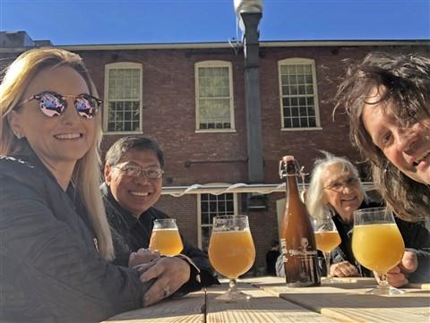 foam brewing burlington vermont vt fall 2018