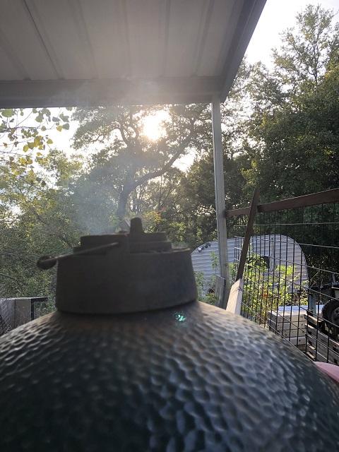 BGE smoker