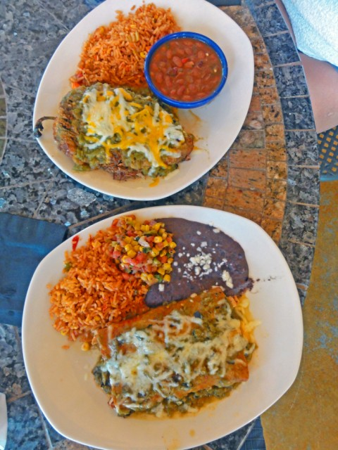 trudy's four star dripping springs austin hatch chili carnitas relleno