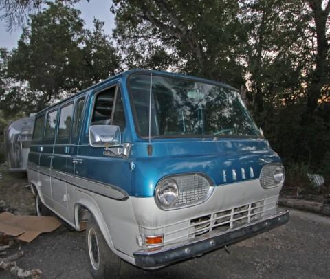 1964 ford falcon DCW van econoline vintage