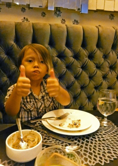 two thumbs up, trace restaurant w hotel austin