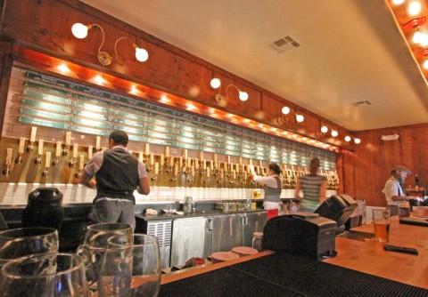 banger's austin sausage and beer 104 taps