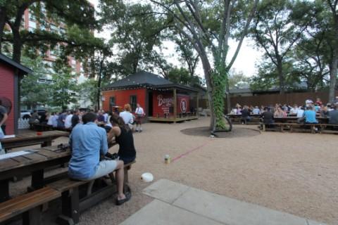 banger's austin beer garden biergarten rainey street