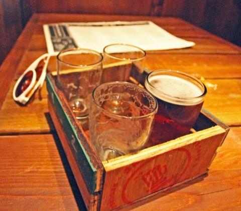 beer flight banger's austin