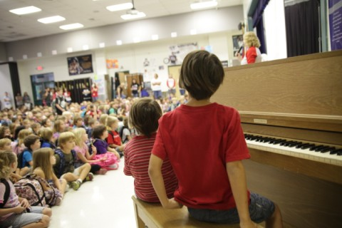eanes elementary friday assembly