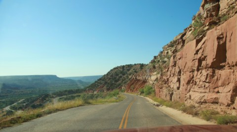 palo duro canyon park rd 5 switchback