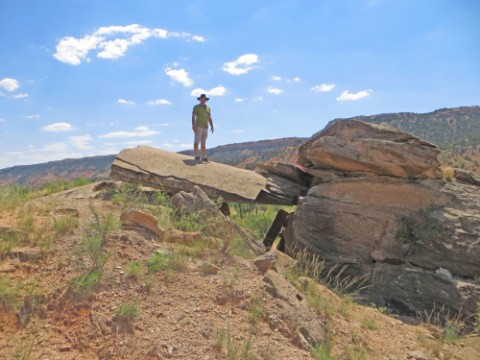 palo duro canyon rock garden