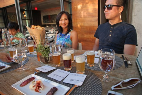 oktoberfest beer flights and pairing trace w austin