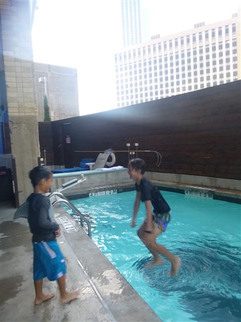aloft dallas water walker pool