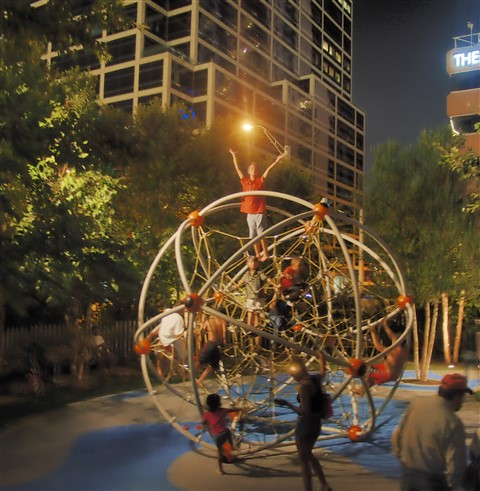 klyde warren park dallas playground