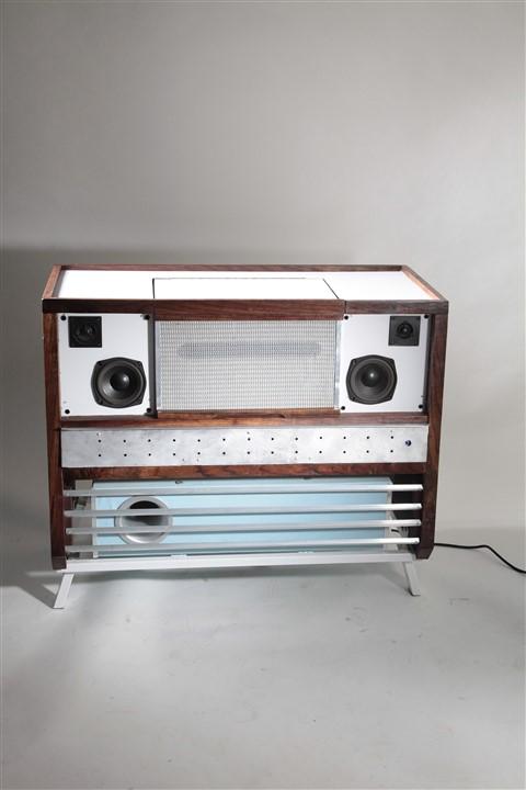 superfunken telefunken console stereo