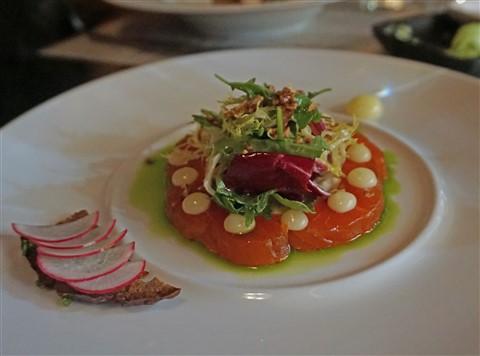 prelog's restaurant austin cured char