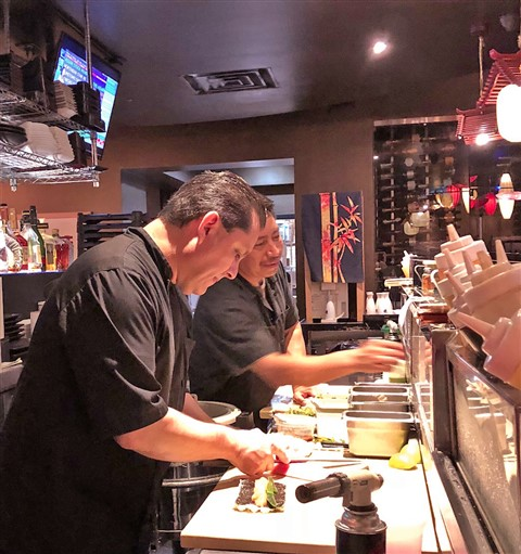 sushi chef Jorge at Chinatown Westlake 78746