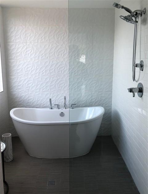 shower bath wet room trend 2018