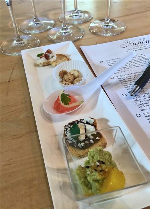 huhlman wines texas food and wine pairing summer 2018