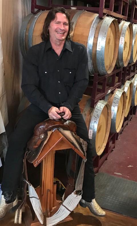 becker winery saddle jockey