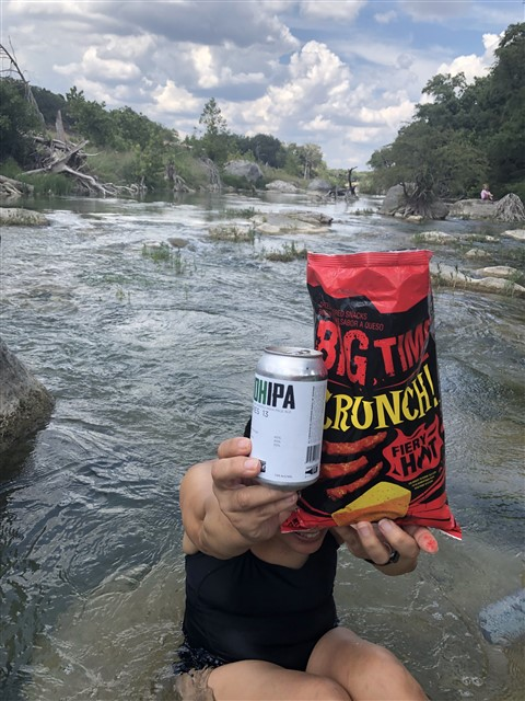 blanco river spicy snacks loved by fish