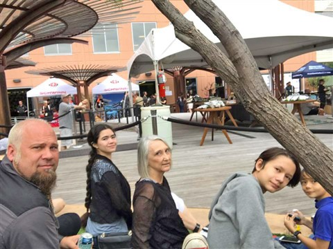 SXSW Whole Foods Rooftop kids and family